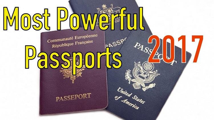 قوی ترین پاسپورت های جهان 2017