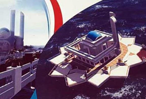 با مسجد روی آب کیش آشنا شوید