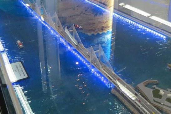 آخرین وضعیت پل خلیج فارس قشم