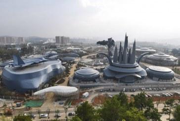 یک ماه دیگر تا افتتاح پارک واقعیت مجازی عظیم چین