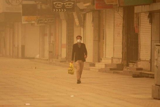 وضعیت آلودگی هوا در شهرهای مختلف ایران