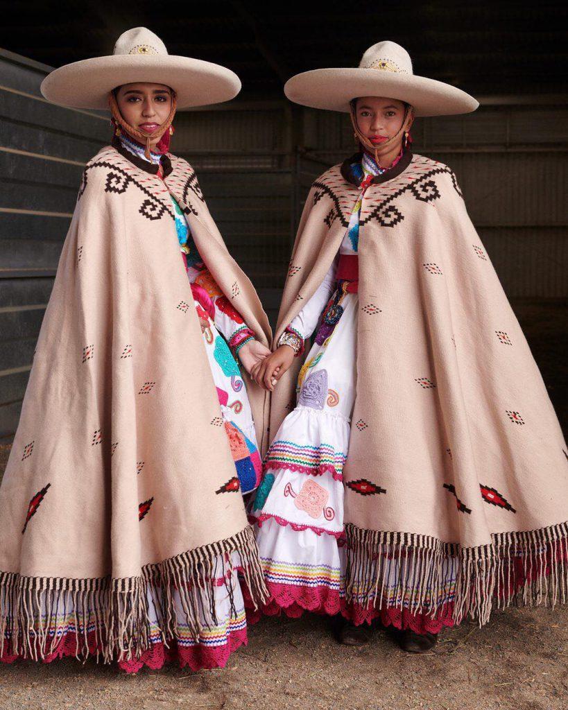 لباس بومی مردم مکزیک