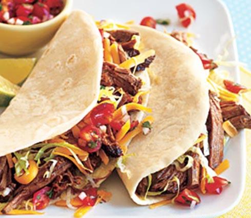 تاکو/ غذای مکزیکی