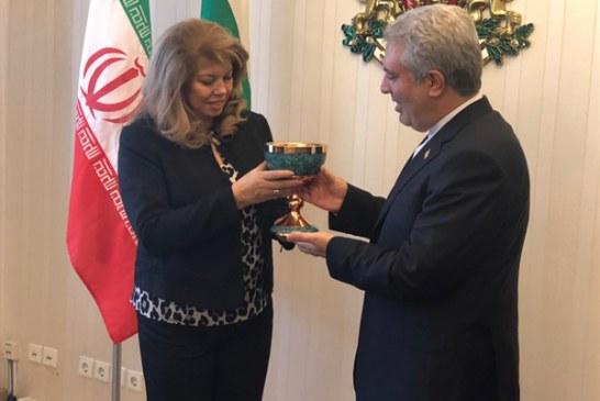 مونسان با معاوناول رئیسجمهوری بلغارستان دیدار کرد