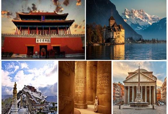 بناهای تاریخی عجیب و مهم در دنیا۲