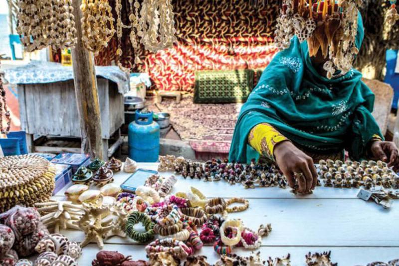 بازار محلی هنگام