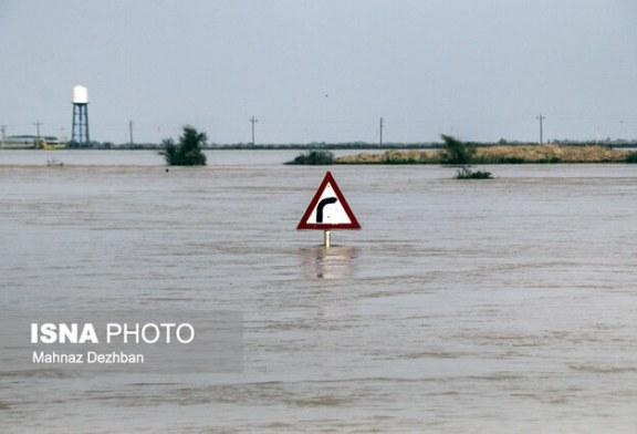 تخلیه ۳۶ روستا در شعیبیه شوشتر/خسارت ۹۵۰ میلیارد تومانی سیل به کشاورزی خوزستان