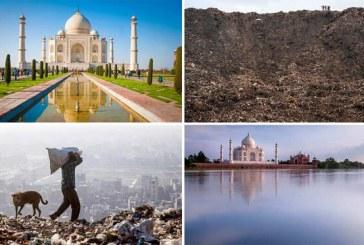 هشدار «دی کاپریو» درباره کوه زبالهها در هندوستان