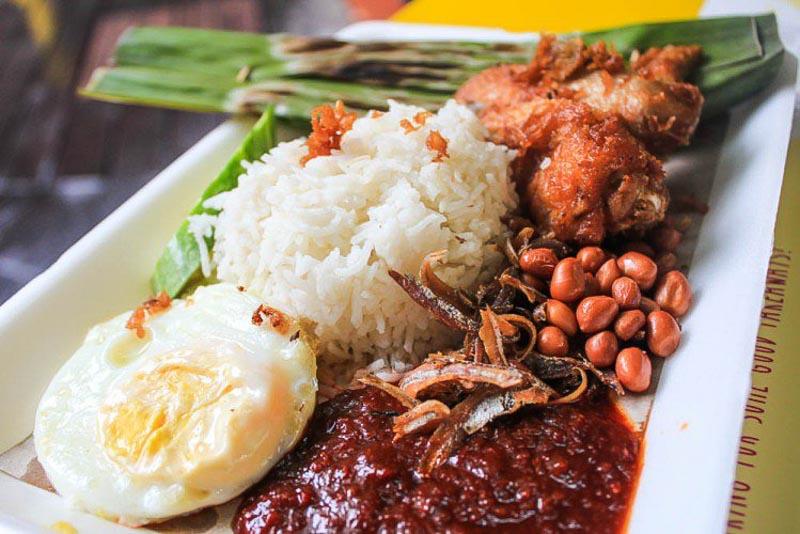 غذا های سنگاپور