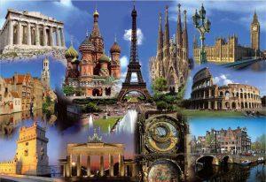 جاذبه های گردشگری اروپا