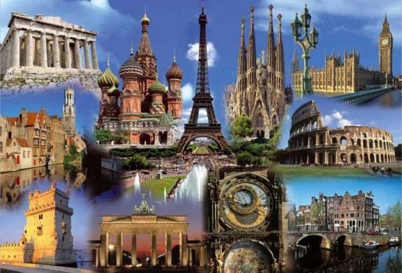 ۵ جاذبه گردشگری برتر اروپا کدام است؟