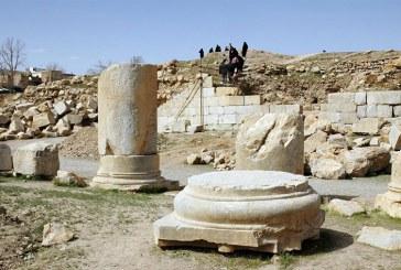مستندنگاری آثار تاریخی معبد آناهیتا و محور ساسانی با همکاری دانشگاه ساپیتزا