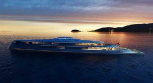 کشتی کوه پیکر آکوا با سوخت هیدروژنی، تفریحی متفاوت بر روی آب