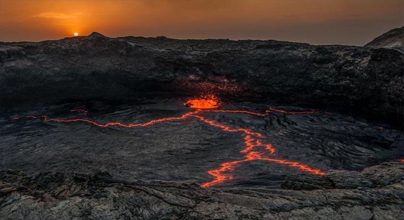 زمین آتشین نشنال جئوگرافیک