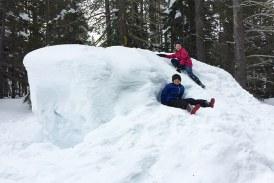 در روزهای سرد سال، بهترین مناطق برف بازی کجاست