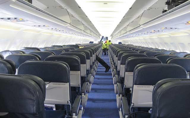 پاکیزگی در هواپیما