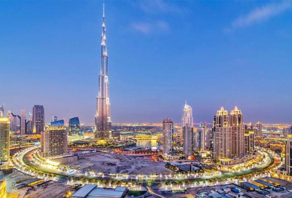 حرکت جالب برج خلیفه دبی برای همدردی با مردم چین