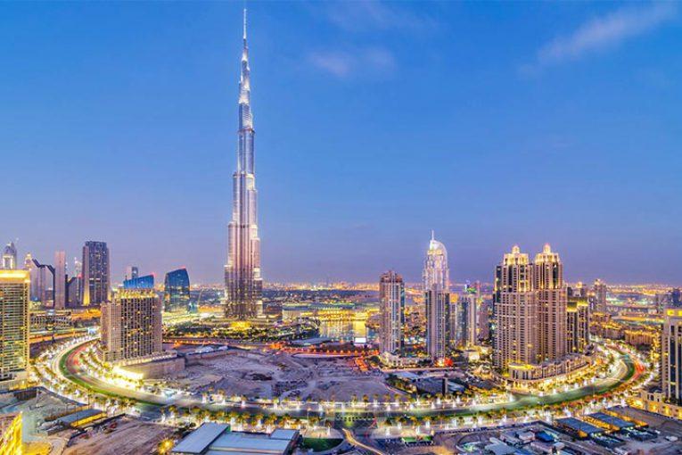 برج خلیفه دبی برای همدردی با مردم چین